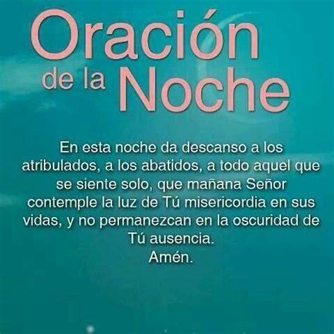 Oracion de la noche   Mi fe Catolica   Pinterest