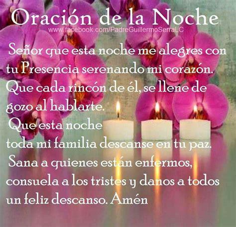 Oracion de la noche   Mi fe!   Pinterest   Religion, Bible ...