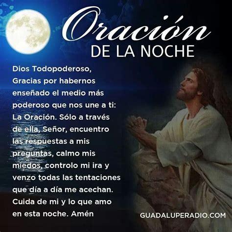 Oración de la noche.   Oración de la noche, Oraciones y ...