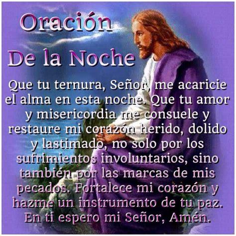 Oración de la noche   Oraciones.   Pinterest   Fe ...
