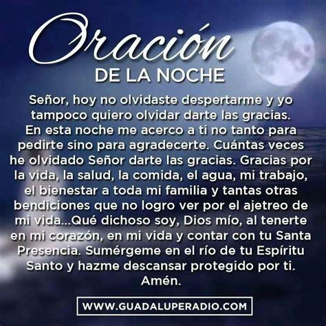 Oracion de la noche   Para Dios   Pinterest   Fe, Religion ...