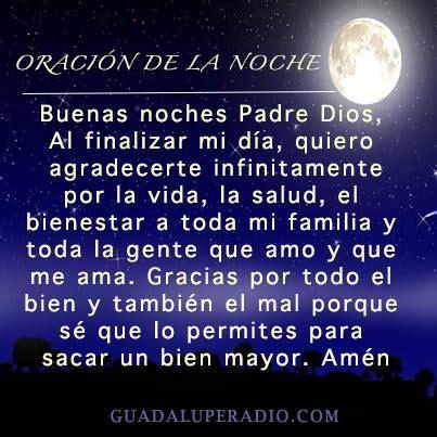 Oración de noche   ORACIONES   Pinterest