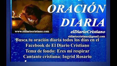 Oración Diaria El Diario Cristiano   YouTube