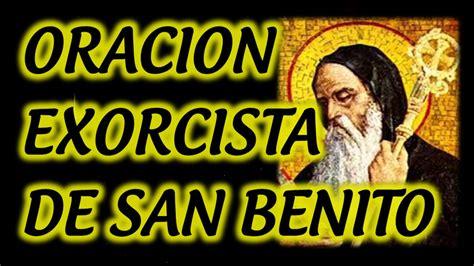 ORACION EXORCISTA DE SAN BENITO   YouTube