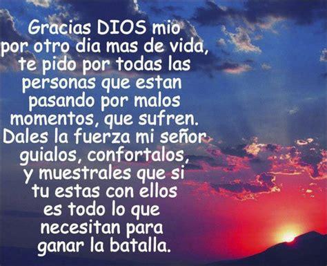 Oración para dar gracias a Dios por un nuevo día Oraciona