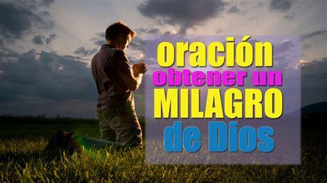 Oración Poderosa para obtener un Milagro de Dios Padre ...