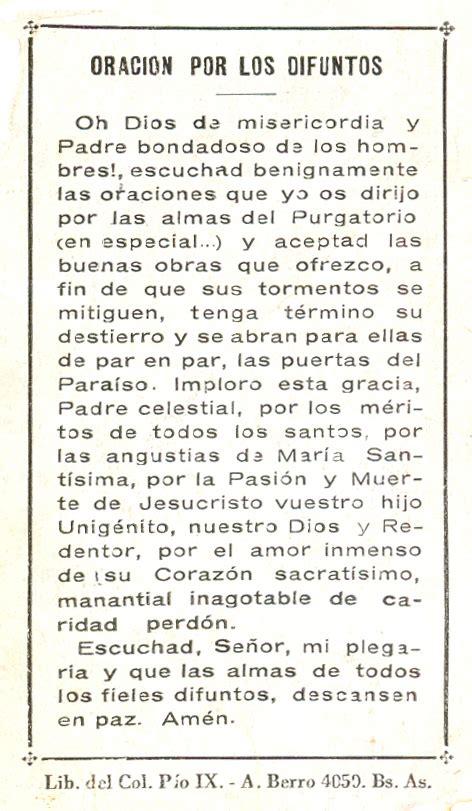 Oraciones para difuntos   Imagui