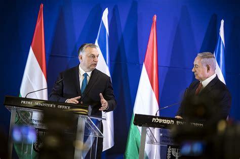 Orbán in Israel: Ziel ist es, Antisemitismus in Europa ...