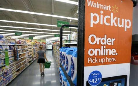 Order Wal Mart groceries online, pick up curbside at 3 ...