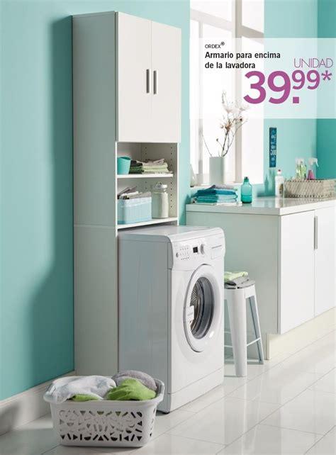 Ordex  Armario para encima de la lavadora/secadora ...