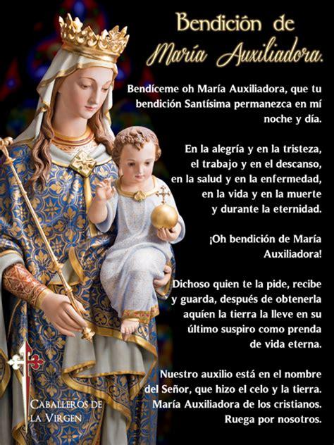 Oremos. comparte esta bella oración a María Auxiliadora ...