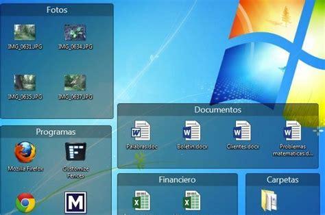 Organiza los iconos del escritorio de Windows con Fences ...