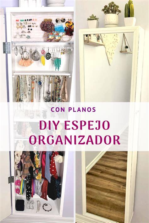 Organizador De Joyas Con Espejo De Cuerpo Entero   Lindo ...