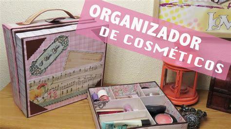 ORGANIZADOR de #maquillaje en forma de #MALETA   YouTube