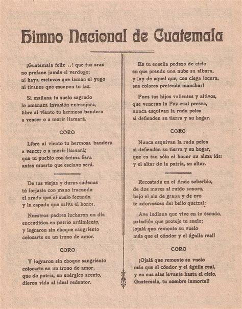 Orgullo Guatemalteco: Análisis de la Letra del Himno ...