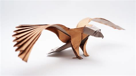 Origami American Eagle v2 – Jo Nakashima