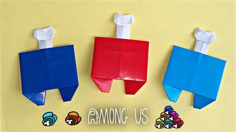 Origami Among Us   DIY Among Us   YouTube