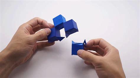 Origami Artist Jo Nakashima's Modular Paper Cubes Shape ...