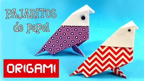 Origami: Ave de papel   Papiroflexia   YouTube