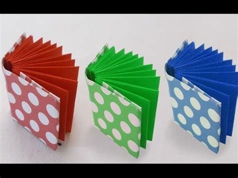 Origami Book : How to Make a Mini Origami Book for Kids ...
