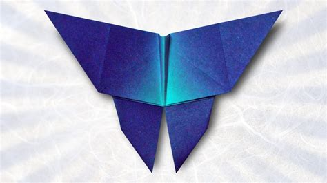 Origami Butterfly  Folding Instructions    YouTube