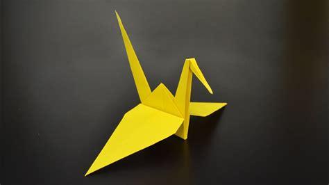 Origami Crane/Tsuru   Tutorial in English  BR    YouTube