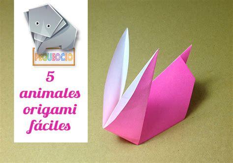Origami fácil: 5 animales de papel ¡con vídeo tutoriales ...