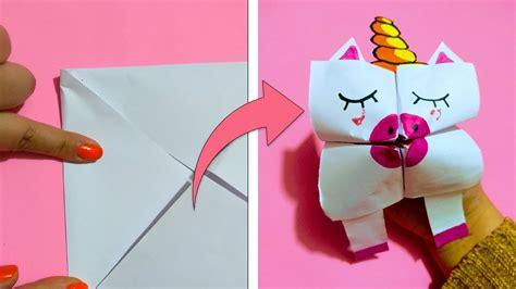Origami Facil Para Ninos Unicornio   imagen para colorear