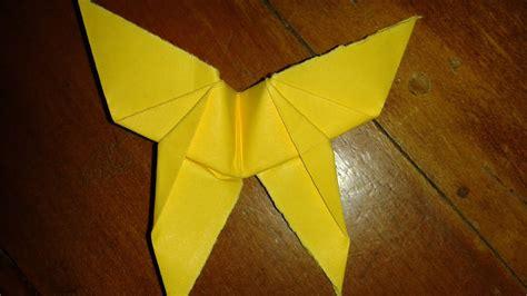 Origami: farfalla  facile    YouTube