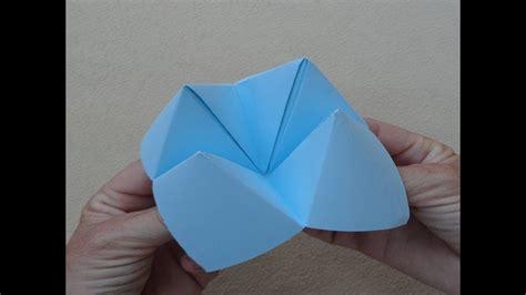 Origami: Fortune teller   Papiroflexia: Comecocos   YouTube