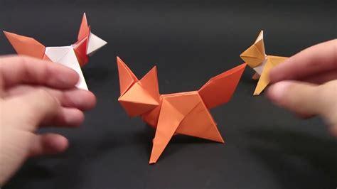 Origami FOX EASY   Yakomoga Origami easy tutorial   YouTube