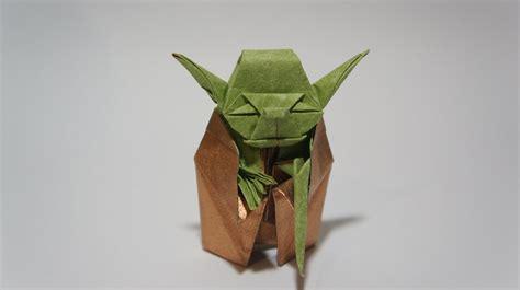 Origami Jedi Master Yoda   Designed by Fumiaki Kawahata ...