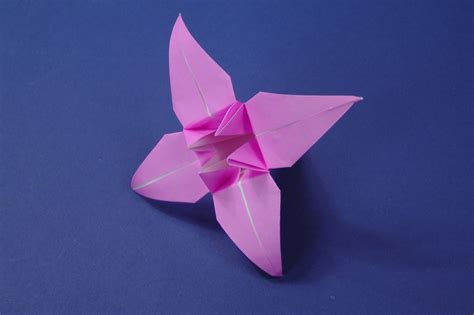 Origami Lily Flower Instructions   Tavin s Origami