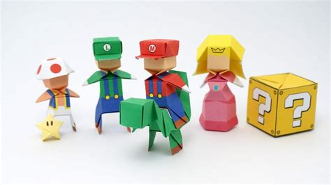 Origami Mario  Jo Nakashima    YouTube