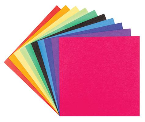 Origami Paper 15x15cm 100's Plain   ZartArt Catalogue