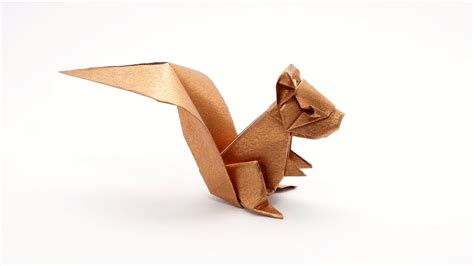 ORIGAMI SQUIRREL  Jo Nakashima    YouTube