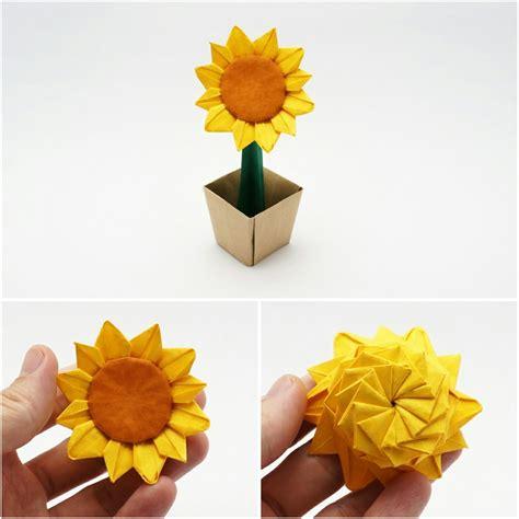 Origami Sunflower   Jo Nakashima