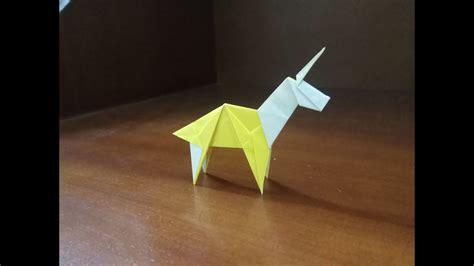 Origami Unicorn   YouTube