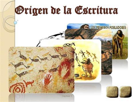 Origen de la escritura1  1