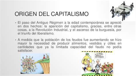 Origen y desarrollo del capitalismo