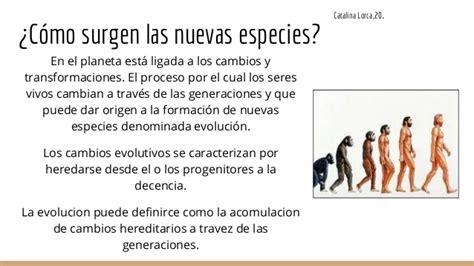 Origen y evolucion de los seres vivos.