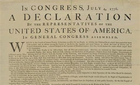 Original copy of Declaration of Independence to be on view ...