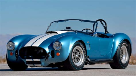 Original Shelby Cobras, including a 427 S/C Roadster ...