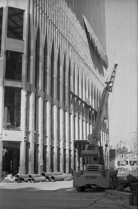 Original World Trade Center construction | construct it ...