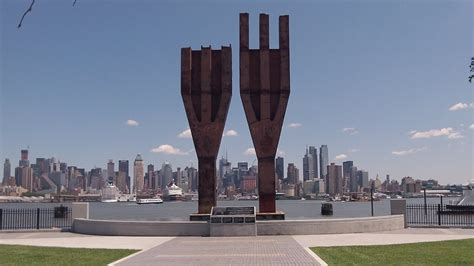Original World Trade Center Trident beams on display   YouTube