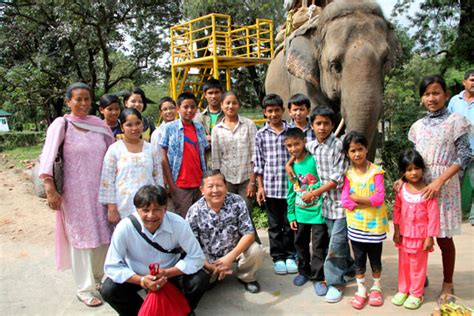 Orphans at the zoo [Second blog from Nepal]   Heaven s Family