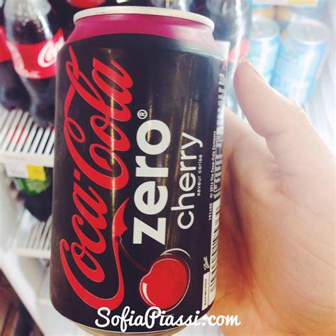 Os Tipos de Coca Cola que encontrei aqui na França ...