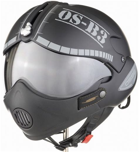 Osbe fighter pilot style motorcycle helmet | Cool bike ...