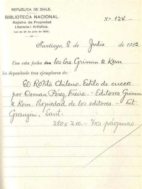 Osmán Pérez Freire: partituras y registros   Departamento ...