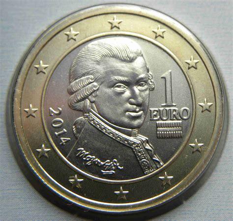 Österreich 1 Euro Münze 2014   euro muenzen.tv   Der ...